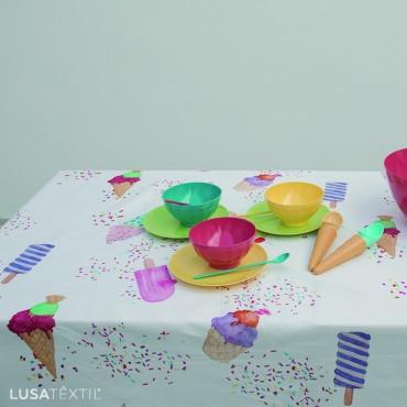 Toalha de mesa ICE CREAM | ASA by LAMEIRINHO