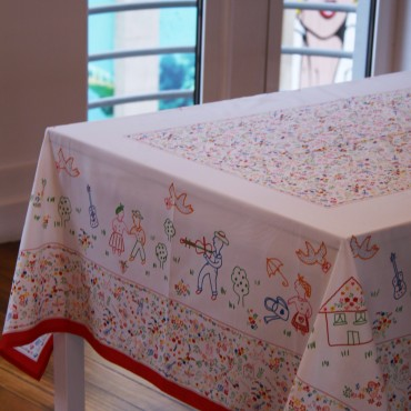 Tablecloth Namorados I