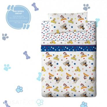 Bed sheet set PATRULHA PATA (PAW PATROL)