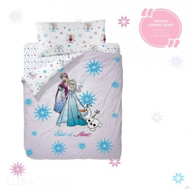 Duvet cover set FROZEN STRONG HEART