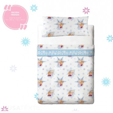 Bed sheet set FROZEN FRIENDS