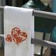 Dish towel CORAÇÃO DE VIANA (RED)