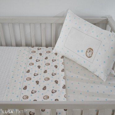 Bed Sheet Set Crib KIKO | ASA by LAMEIRINHO