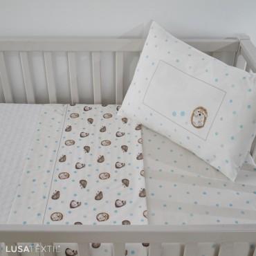 Bed Sheet Set Crib KIKO | ASA by LAMEIRINHO
