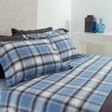 Flannel Bed Sheet Set CONDE | Asa by Lameirinho