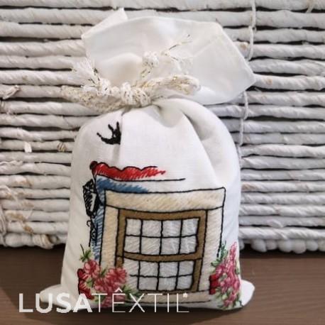 Lavender Embroidered Sachet - Janela