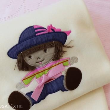 Baby blanket ZEQUINHA & PUPPETTE | PIUBELLE