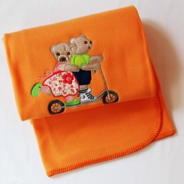 Baby blanket TROTINETE | PIUBELLE