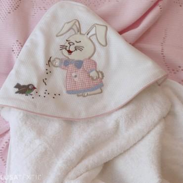 Toalla de baño de bebé TICO & TECO | PIUBELLE