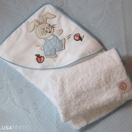 Toalha de banho bebé TICO & TECO | PIUBELLE