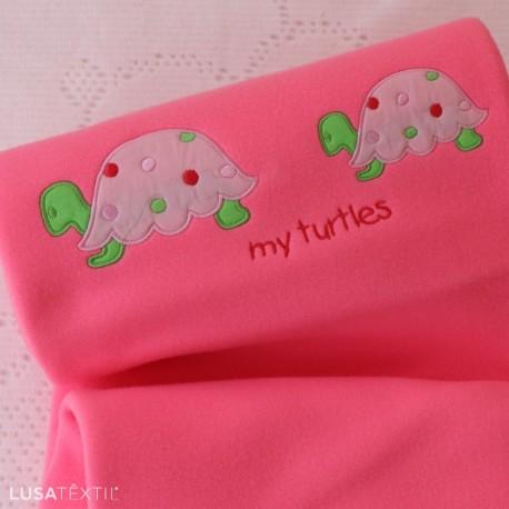 Manta bebé MY TURTLES   PIUBELLE