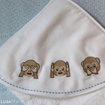 Baby bath towel DUDA | PIUBELLE
