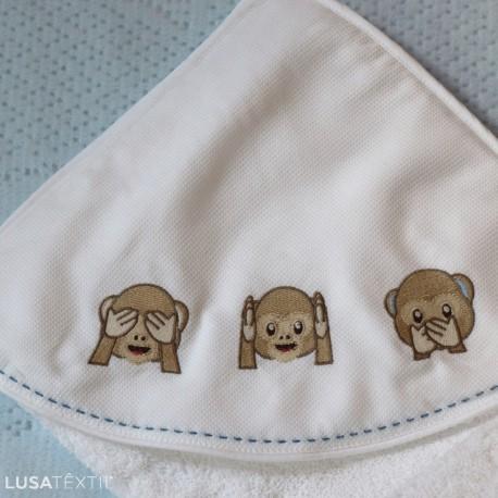 Toalha de banho bebé DUDA | PIUBELLE