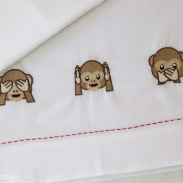 Jogo de lençol berço bebé DUDA | PIUBELLE