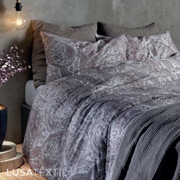 Parure de lit housse de couette 300E 19/6 | SAMPEDRO