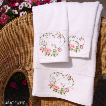Bath towel set FLORAL