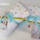 Jogo de lençol infantil Coelima